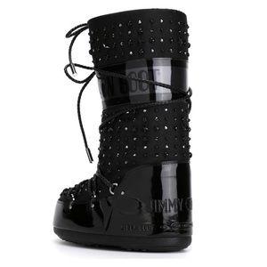 e6ec9fcd9a8f Jimmy Choo Shoes - Jimmy Choo Moon Boot Crystal Studded